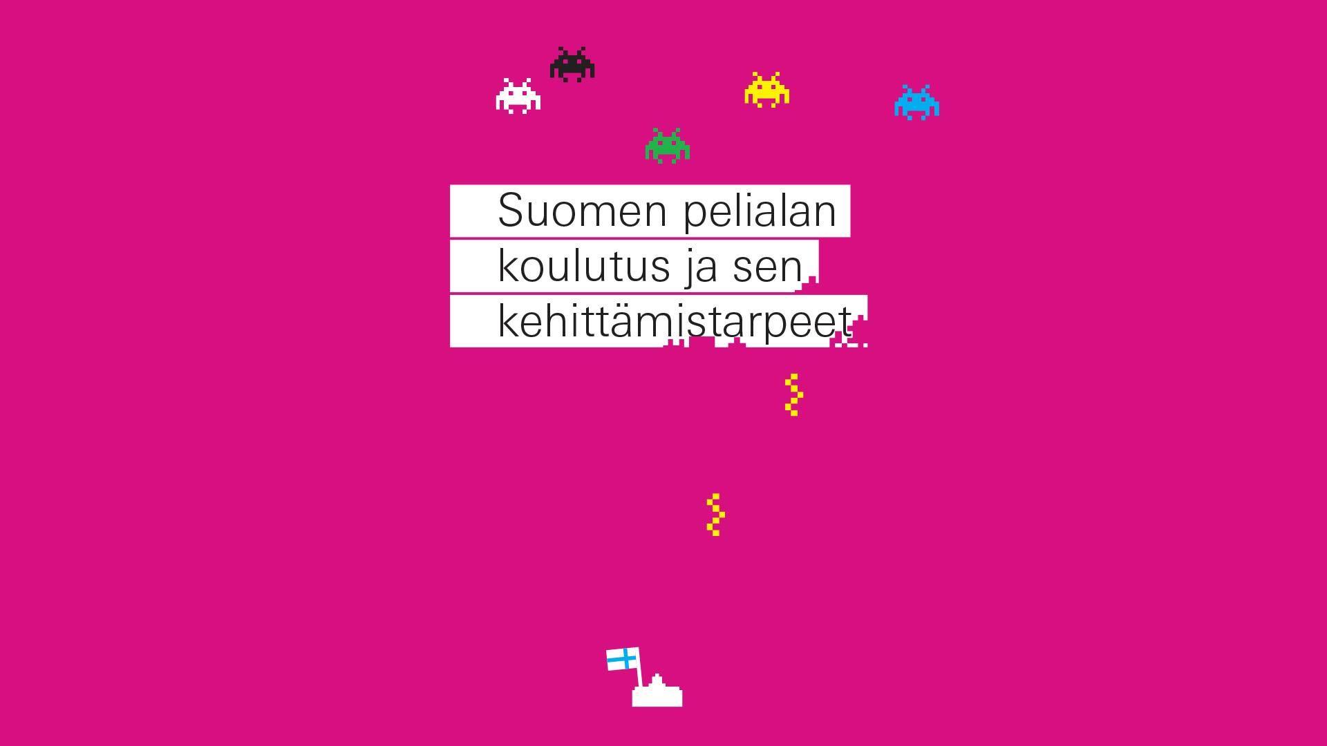 2008 Suomen pelialan koulutustarpeet 2008