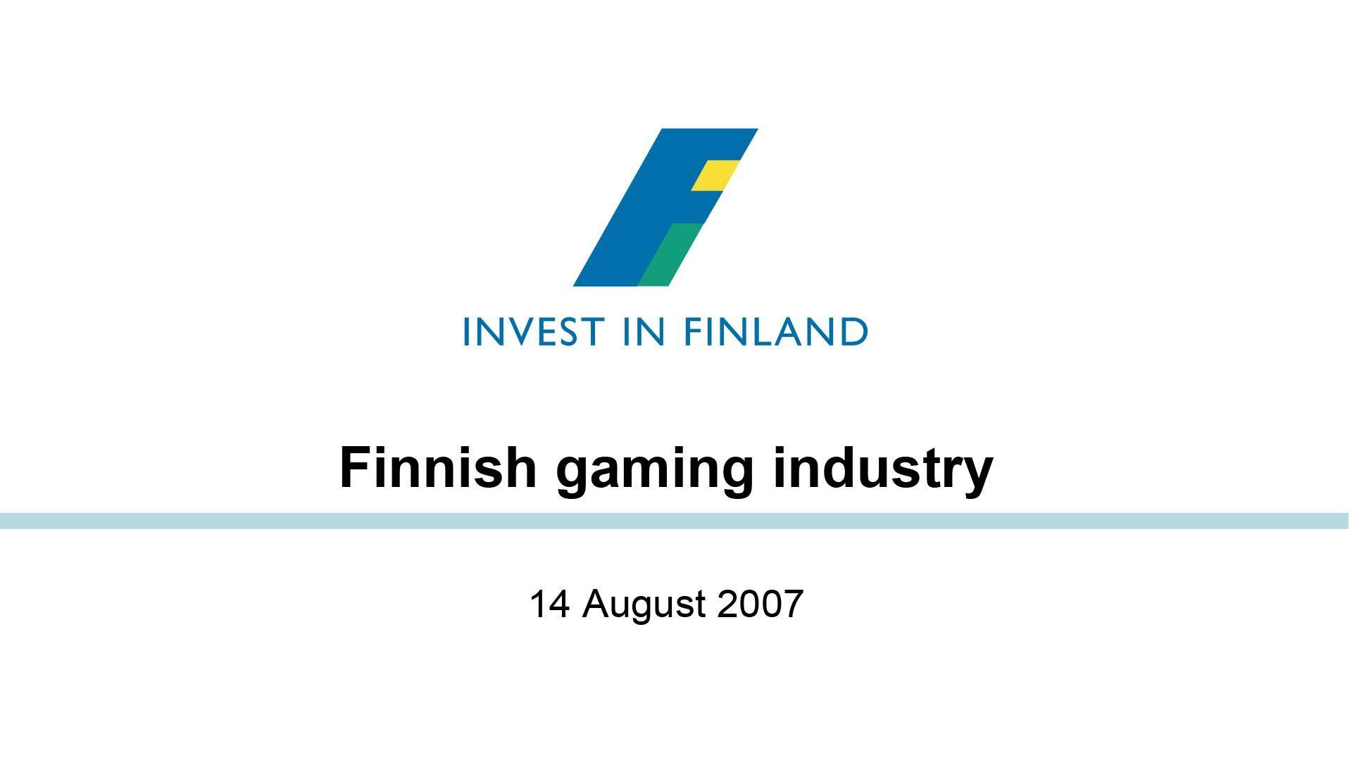 Suomen peliala 2007