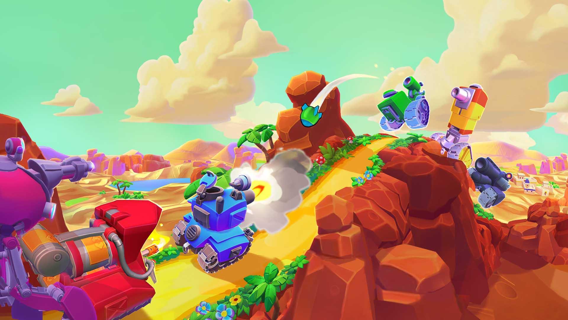 Superplus Games Hills of Steel 2